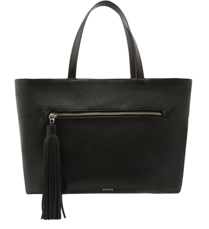Bolsa Schutz Shopping Bag Louise Black