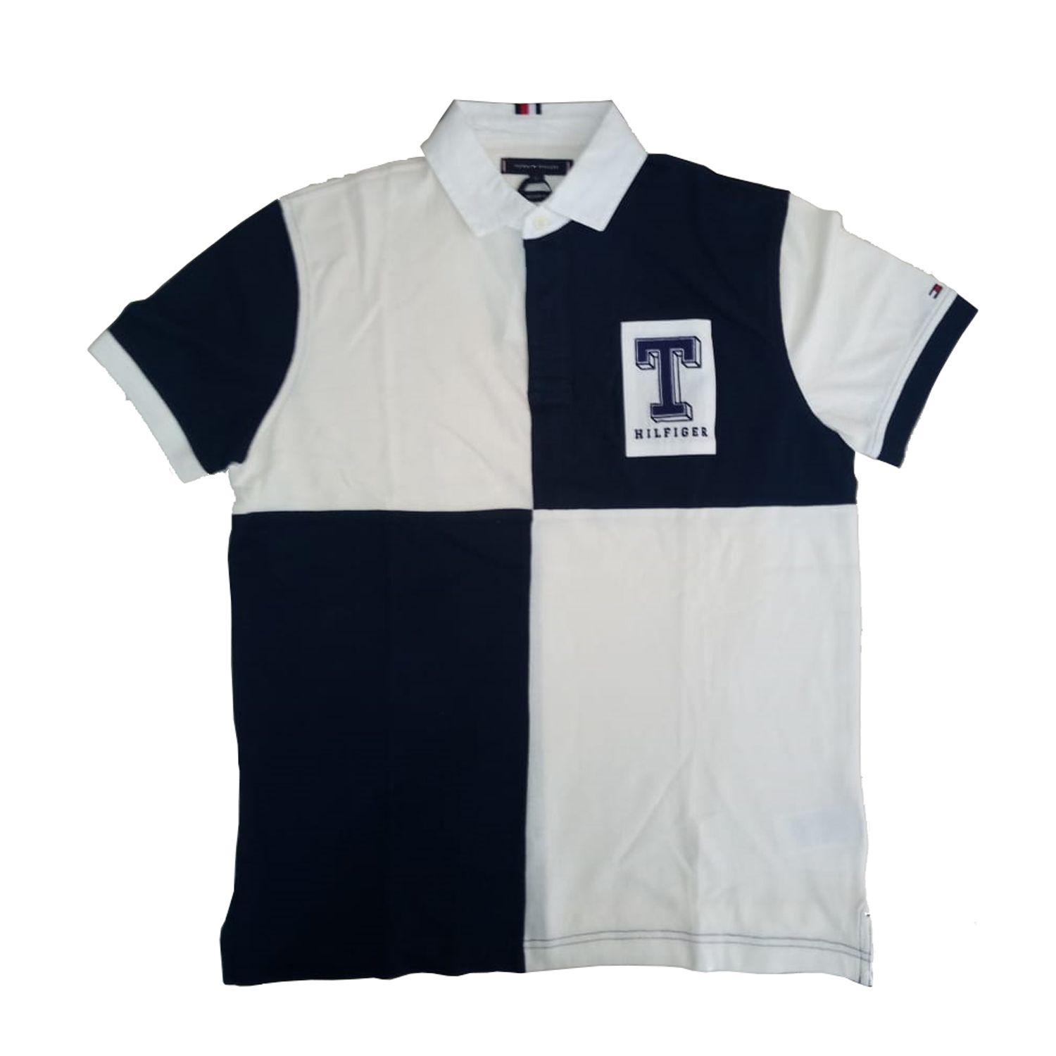 42e8055a607b Camiseta Tommy Hilfiger WCC Colorblock Rugby Reg Polo M - JP Import ...
