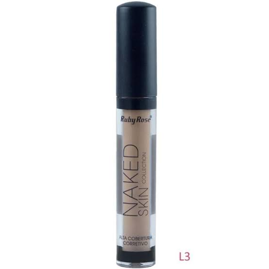 Corretivos Líquidos Ruby Rose Naked Flawless Collection HB-8080