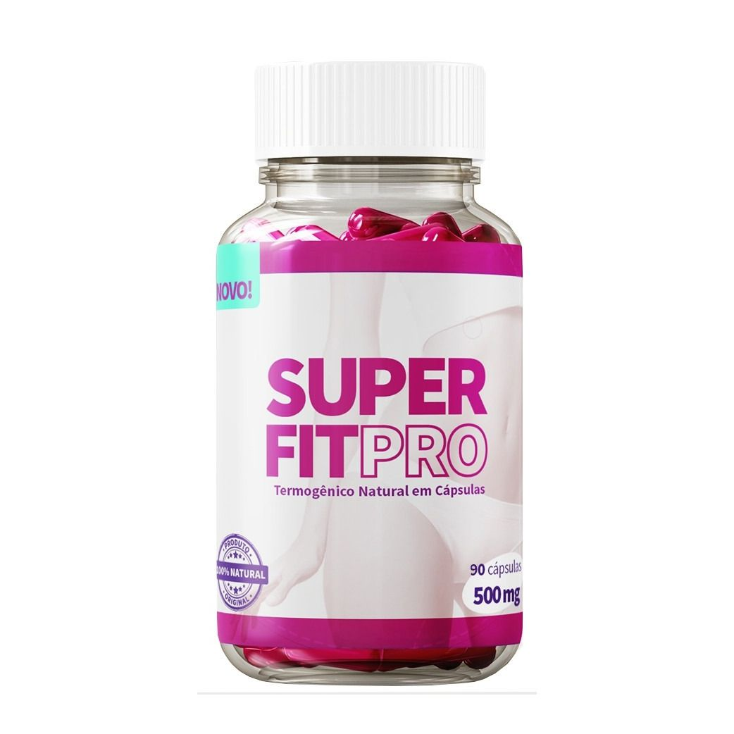 Emagrecedor Super Fit Pro 90 Cápsulas 500mg