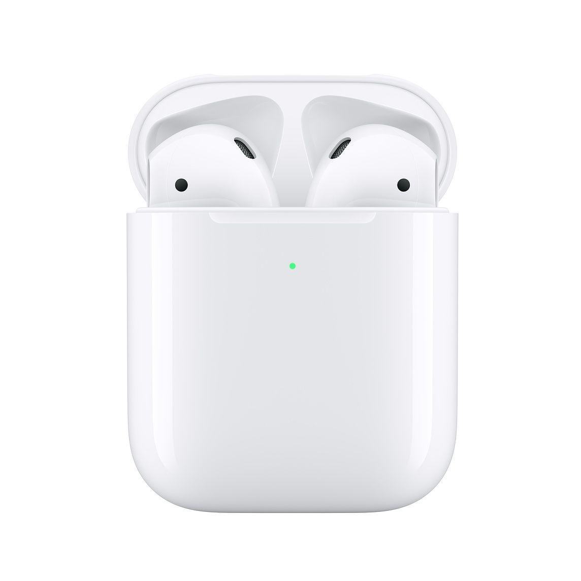 Fone De Ouvido Apple Airpods Sem Fio Modelo 2 Plus  Wireless Charging Case