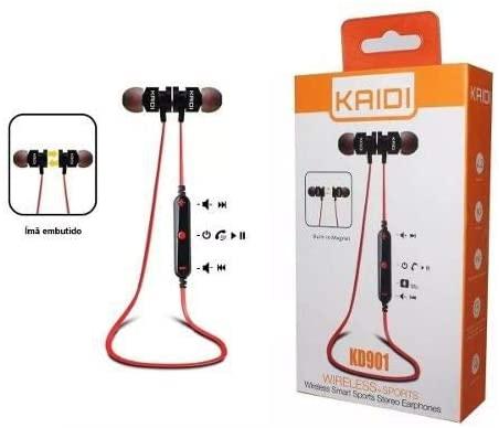 Fone De Ouvido Bluetooth Sem Fio Sportivo Panda PA-901