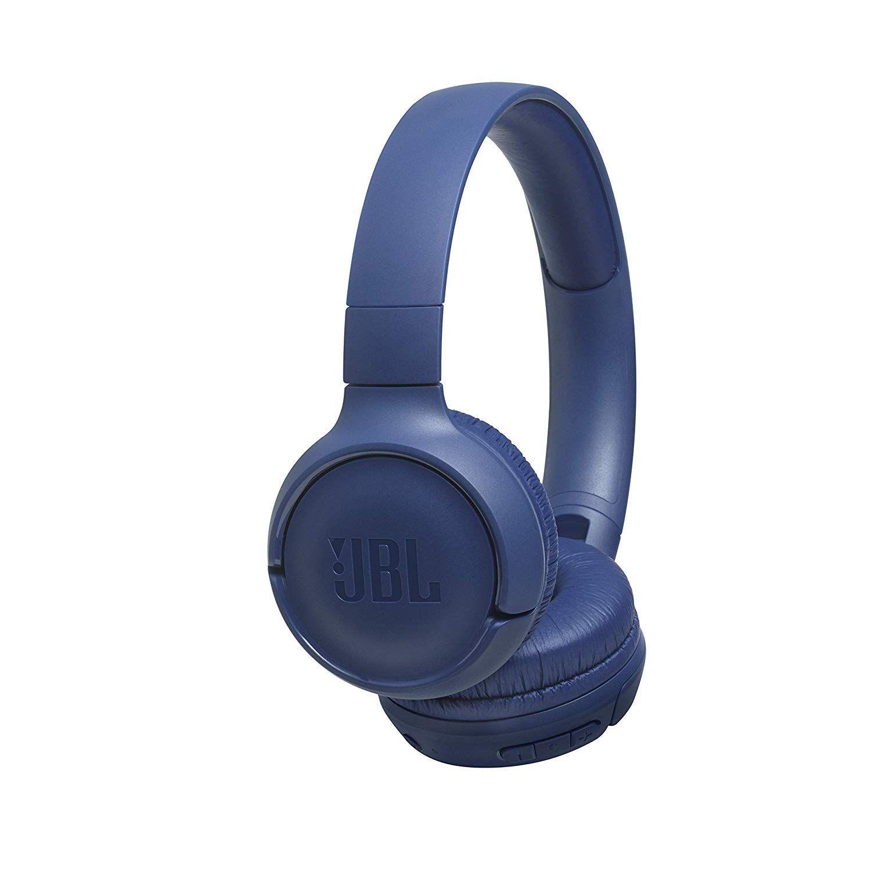 Fone de Ouvido Pure Bass JBL TUNE 500BT  Azul