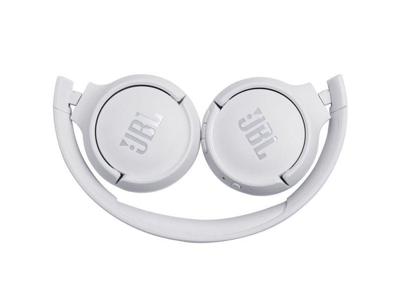 Fone de Ouvido Pure Bass JBL Tune 500BT Branco