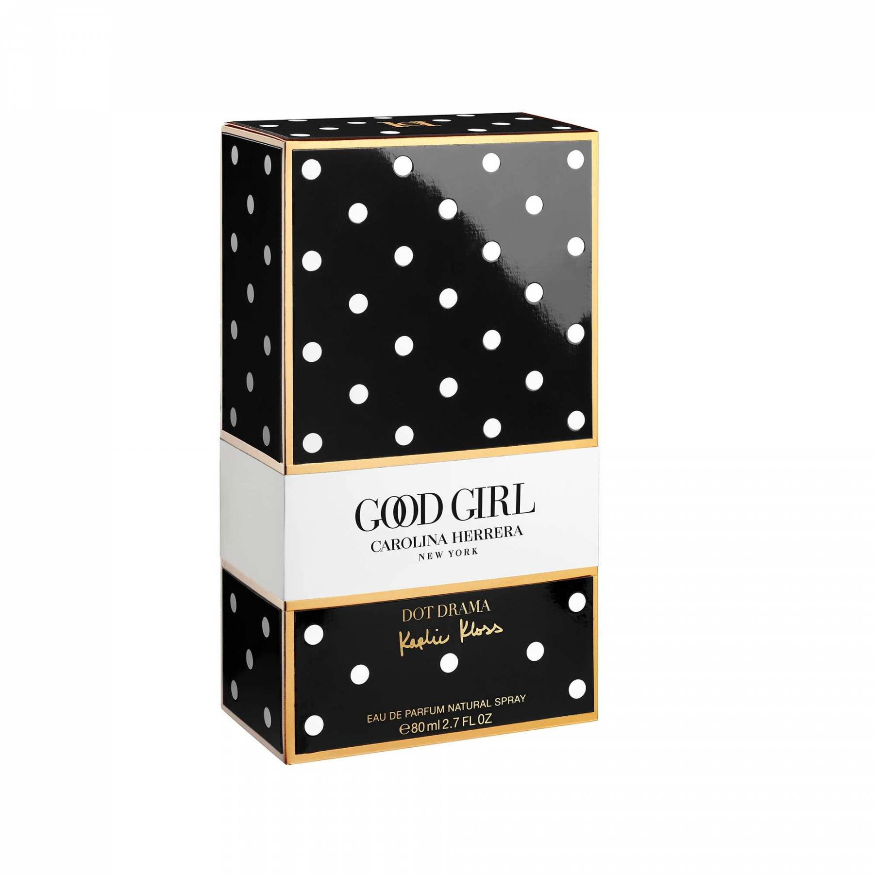 Perfume Good Girl Collector Dot Drama Carolina Herrera Feminino Eau de Parfum 80ml
