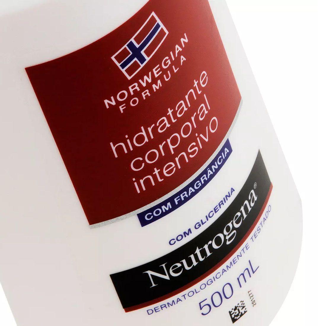 Hidratante Corporal Intensivo Neutrogena Norwegian Com Fragrância 500ml