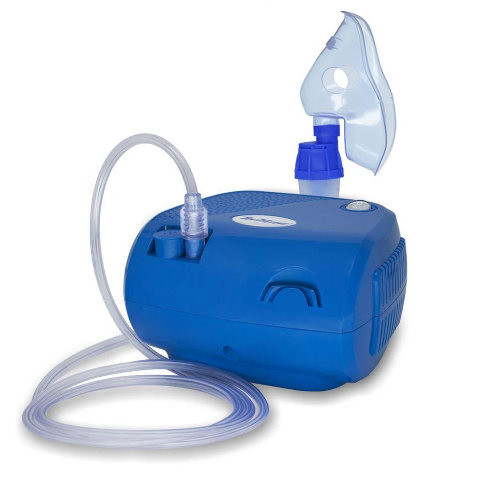 Inalador Nebulizador De Ar Comprimido Techline Nb-01 Bivolt