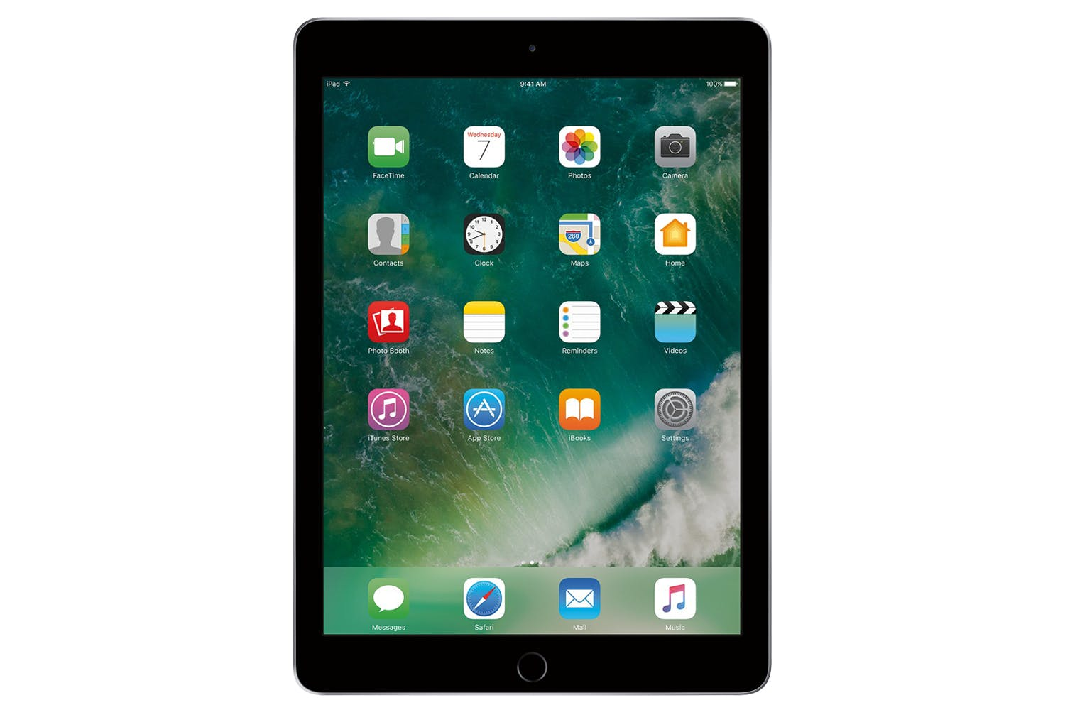 Ipad 6 Apple 128GB Tela 9.7 Space Gray Cinza IOS 11 Model A1893 Wi-ffi