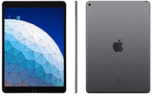 """Ipad Apple Air 3 256GB Tela 10.5"""" Câmeras 8mp E 7mp Space e Silver"""