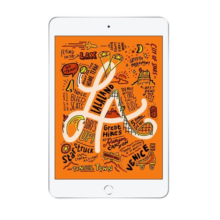 iPad mini 5 Apple Tela Retina 64GB, Prata Wi-Fi