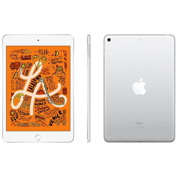 iPad mini 5 Apple Tela Retina 64GB, Wi-Fi Silver e Space