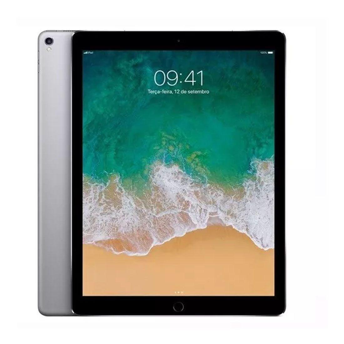 iPad Pro Apple, Tela Retina 12,9', 256GB, Space Gray - Wifi - MP6G2LL/A