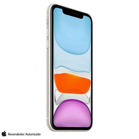 """iPhone 11 Branco Tela de 6,1"""" 4G 128GB Câmera 12 MP"""
