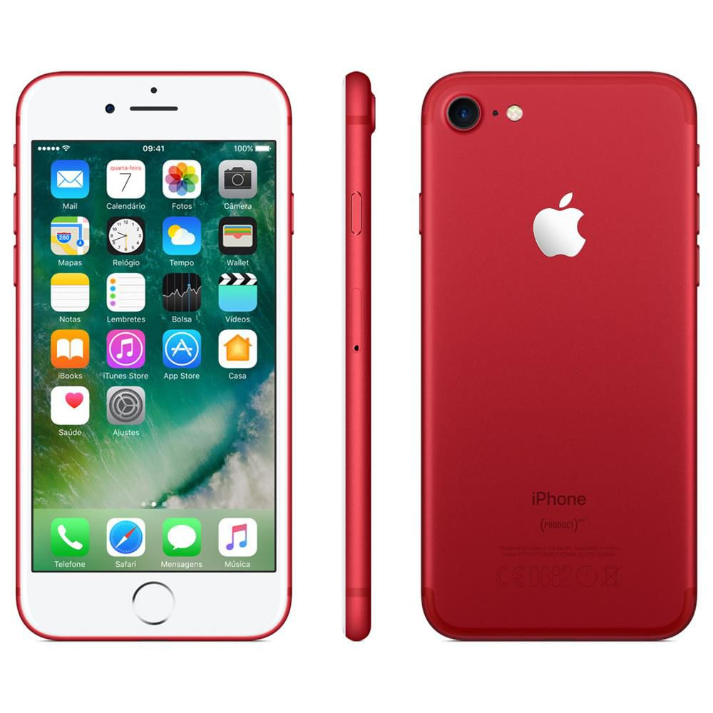 Iphone 7 Apple 128GB Vermelho/RED