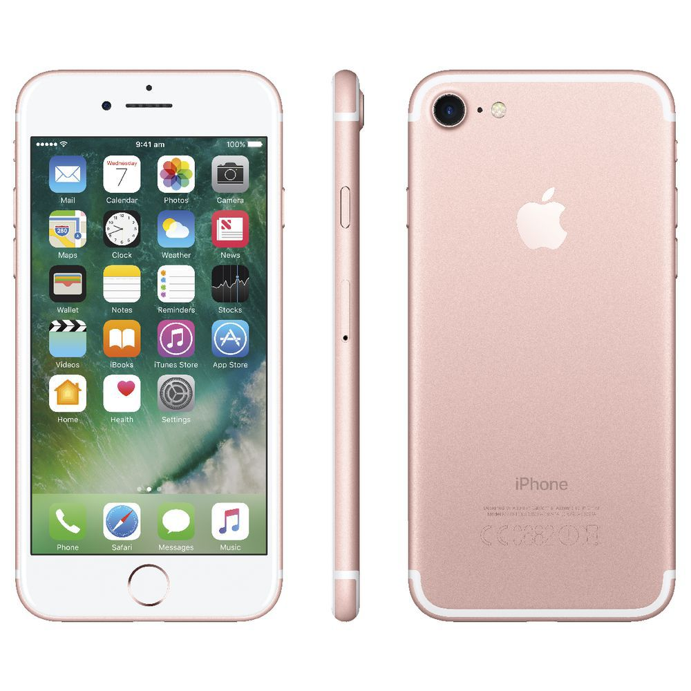 Iphone 7 Apple 32GB Gold Rose A1778