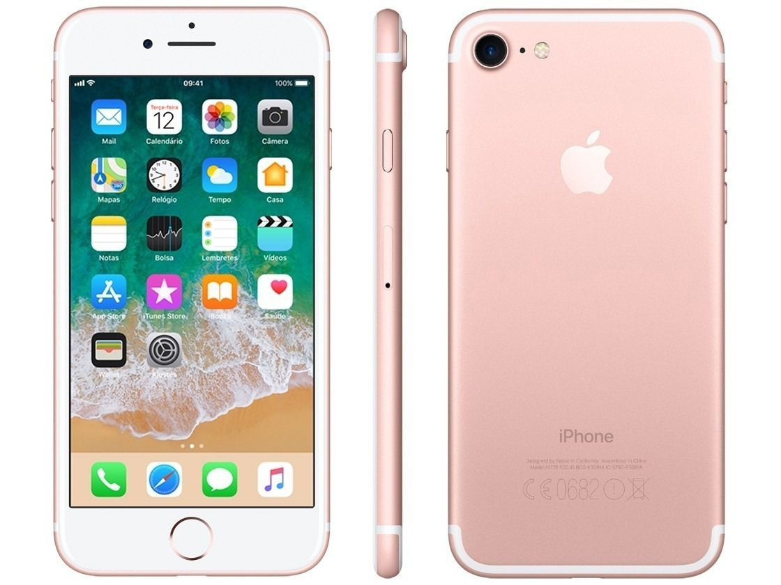 Iphone 7 Apple Gold Rose - 256 GB Modelo A1778