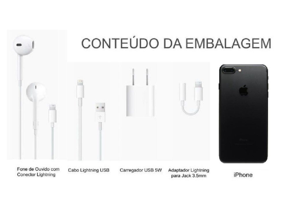 Iphone 7 Plus 128GG Preto