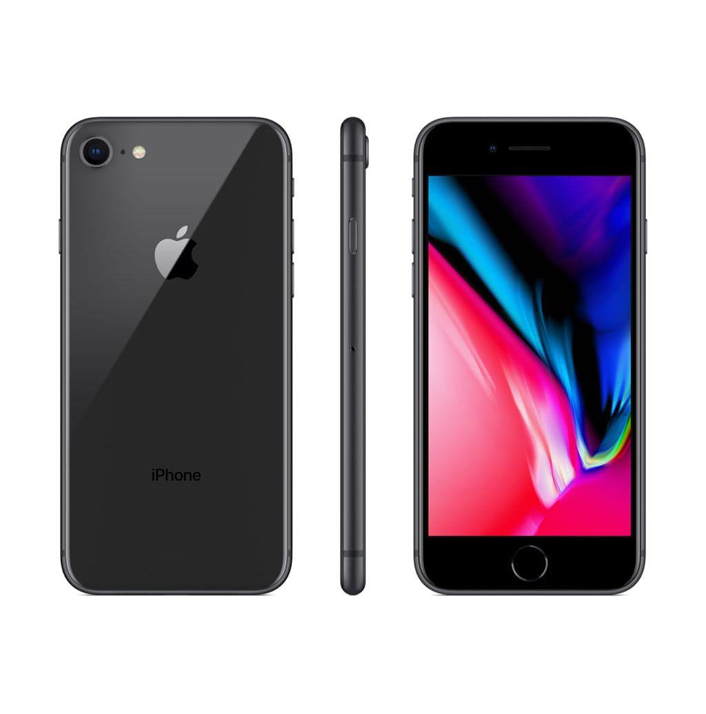 Iphone 8 Apple 256GB IOS 11 Cinza Espacial Tela de 4.7