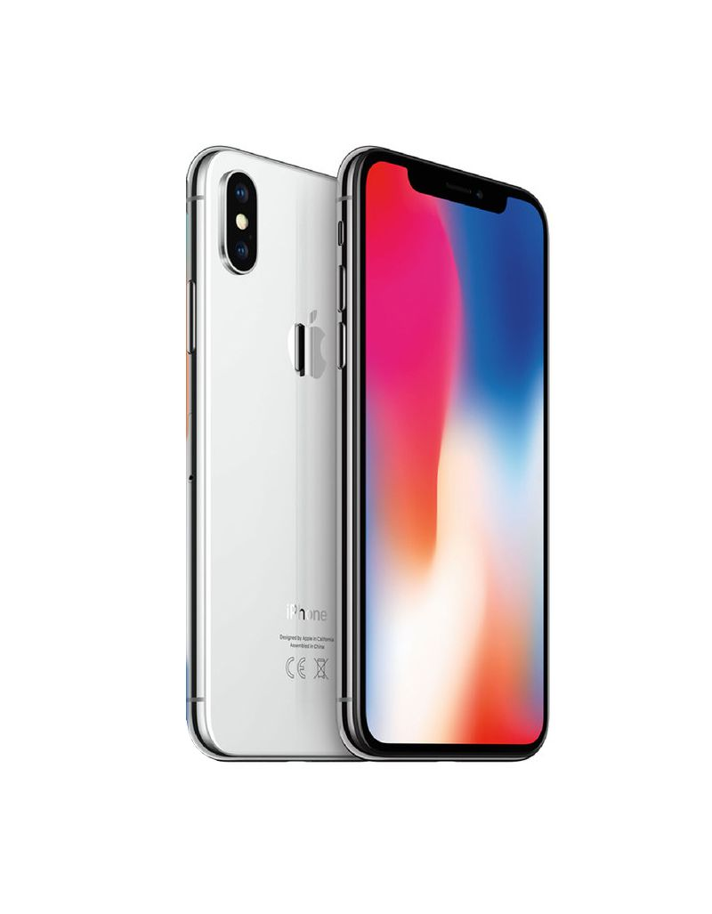 Iphone X 256gb Apple iOS 12 Silver