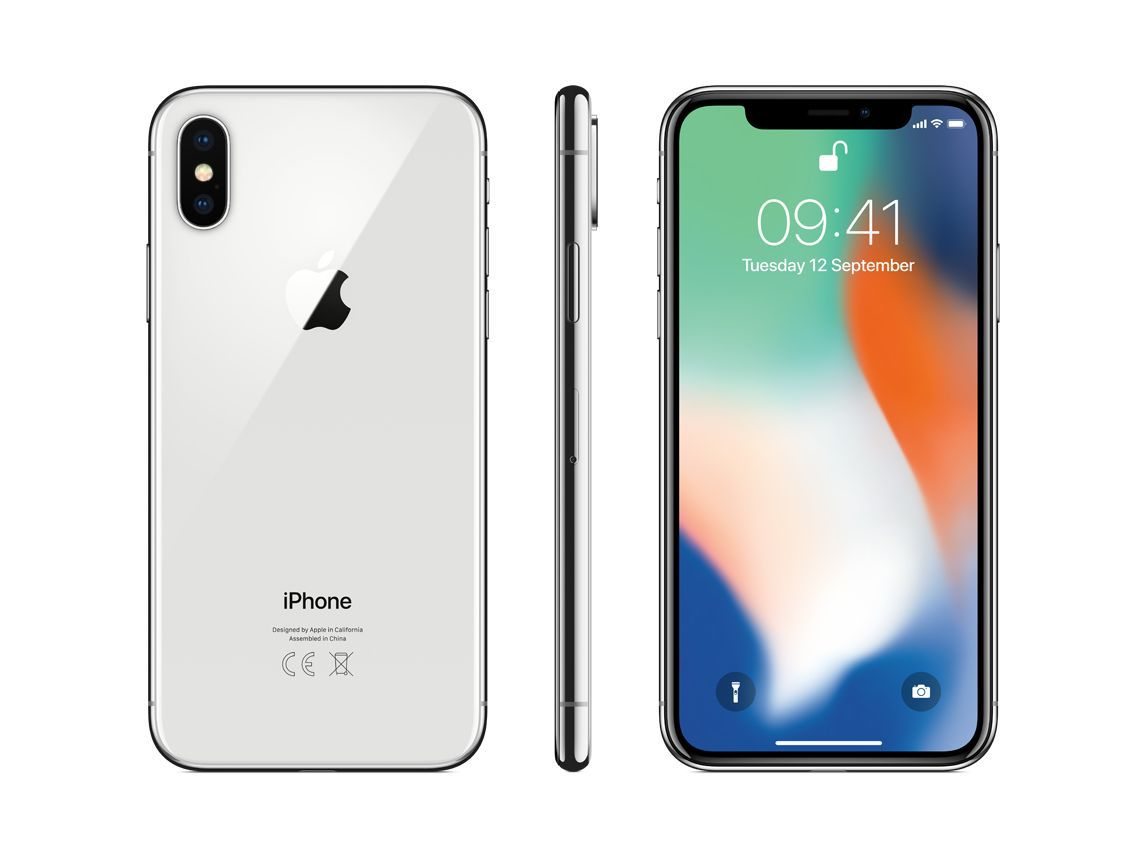 Iphone X 64gb Apple iOS 12 Silver - Prata