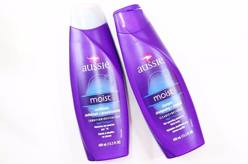 Kit Aussie Mega Moist Shampoo 400ml + Condicionador 400ml