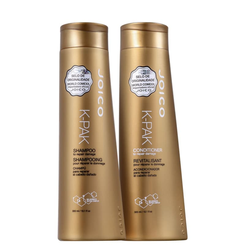 Kit Joico K-PAK To Repair Damage Shampoo 300 ml e Condicionador 300 ml