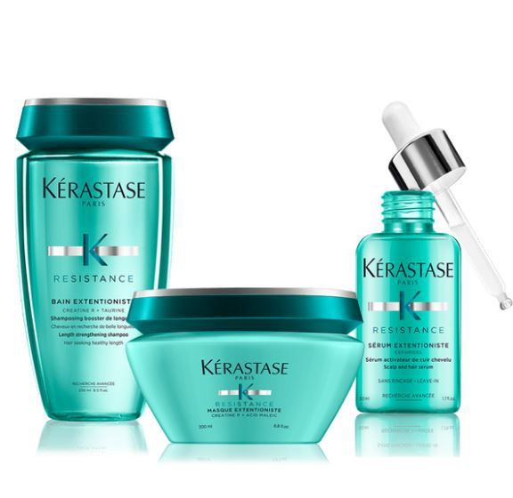Kit Kerastase Resistence Bain Extentioniste Shamp+Másc+Serum