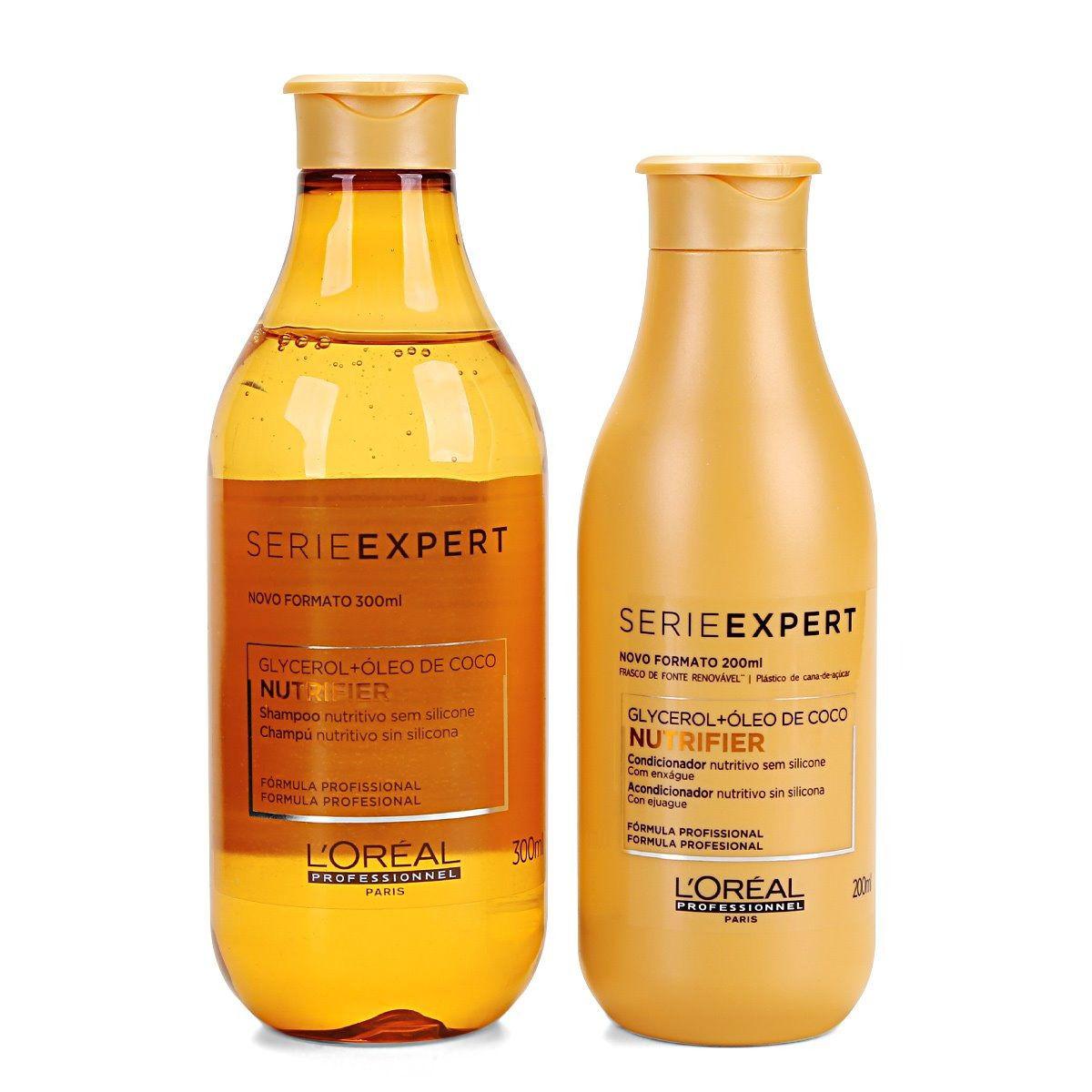 Kit Loreal Expert Nutrifier Shampoo 300ml + Condicionador 200ml