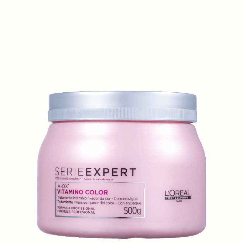Kit Loreal Vitamino Color Shampoo 1,5L + Mascara 500g