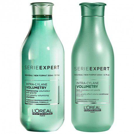 Kit Loreal Volumetry Shampoo 300ml + Condicionador 200ml