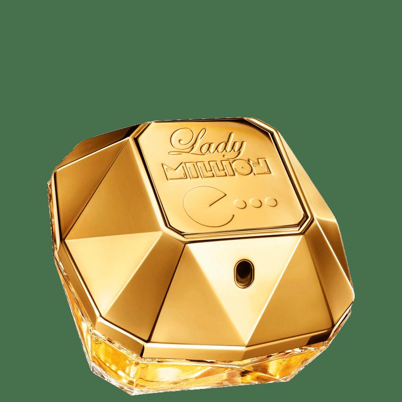 Perfume Lady Million Pacman Limited Edition Paco Rabanne Eau de Parfum Feminino 80ml