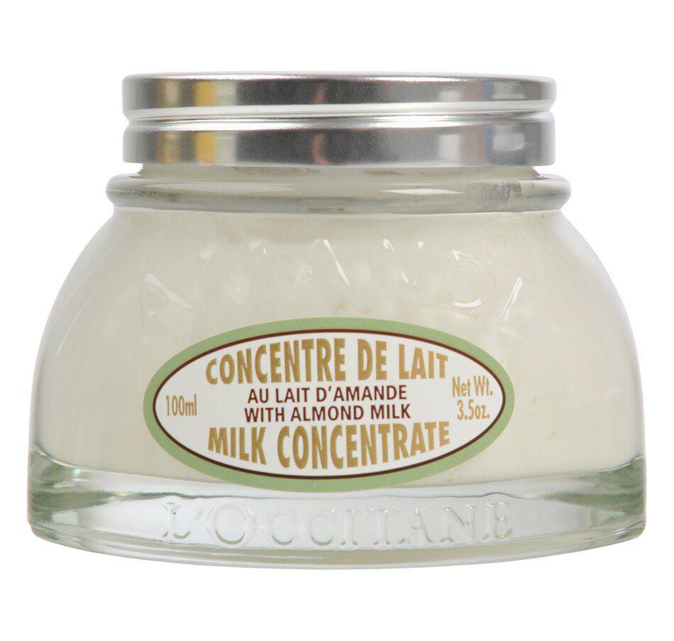 Loção Loccitane Almond Milk Concentrate Body Cream 100ml