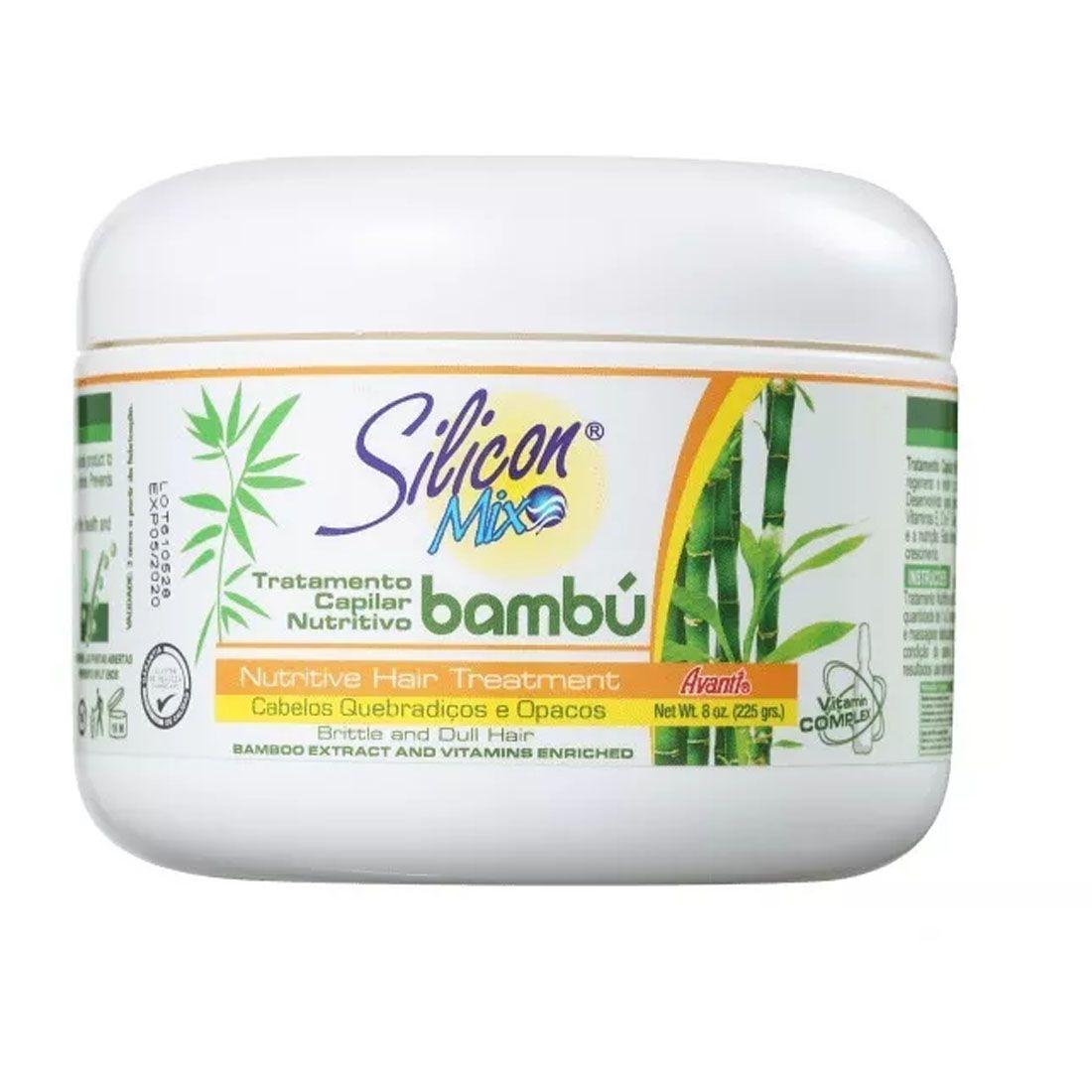 Mascara Capilar Silicon Mix Bambu Nutritivo 225g
