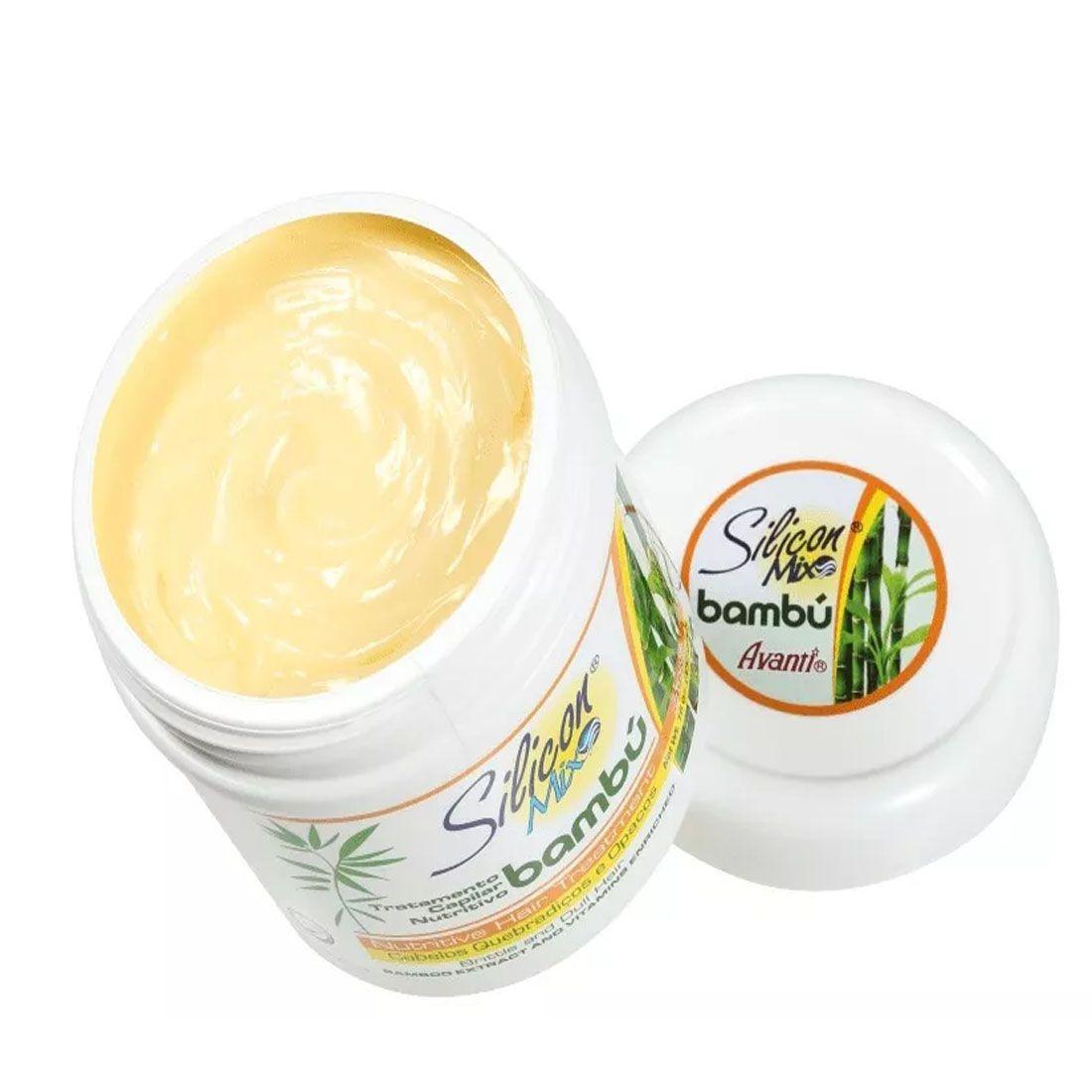 Mascara Capilar Silicon Mix Bambu Nutritivo 450g