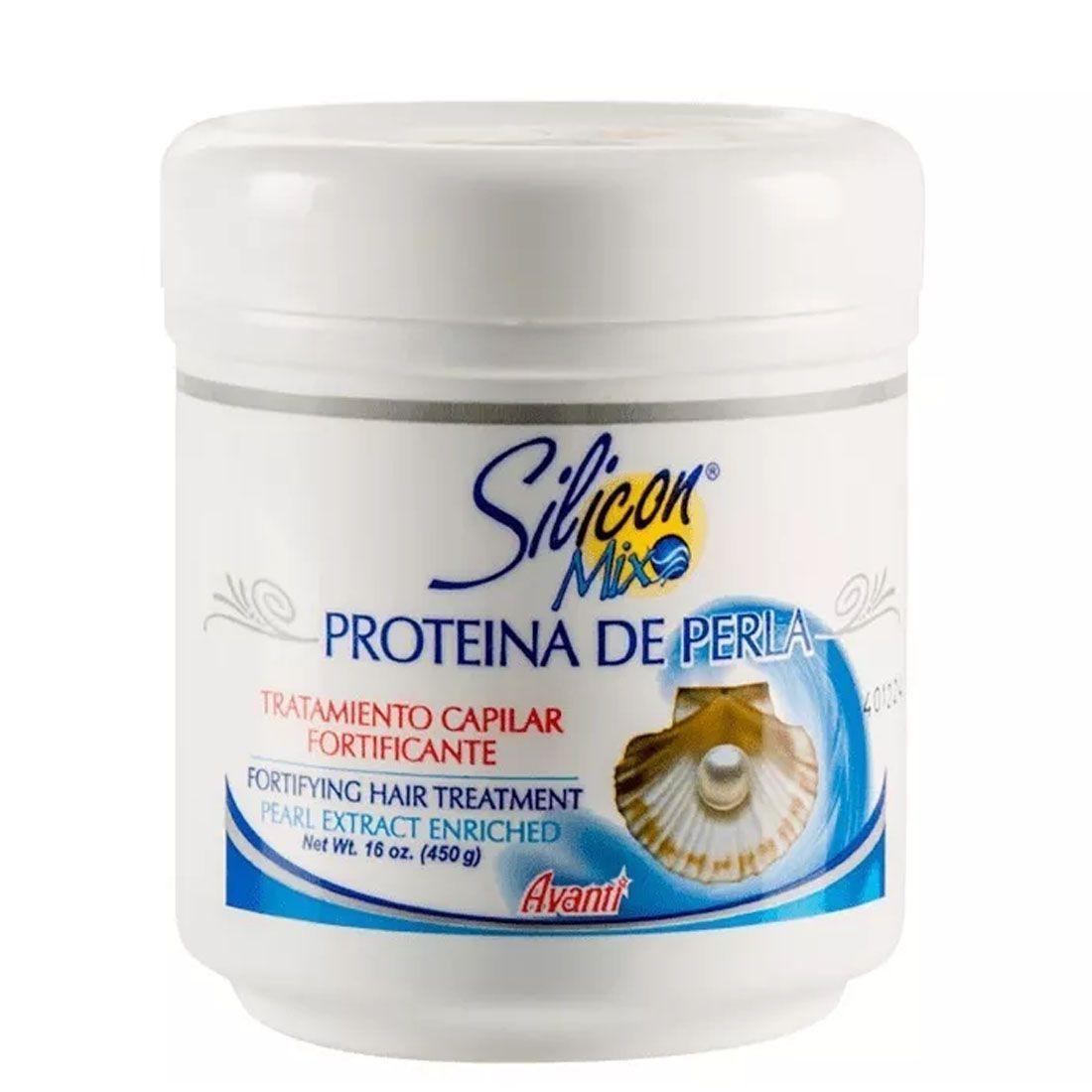 Mascara Capilar Silicon Mix Proteína De Perla Fortificante 450g