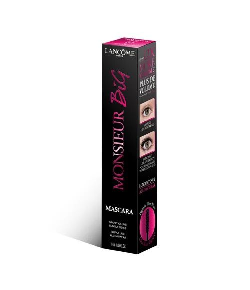 Máscara de Cílios Lancomê Monsieur Big Preto 4ml