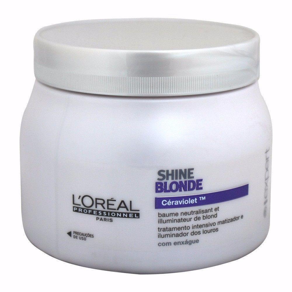Máscara Loreal Expert Shine Blonde 500g