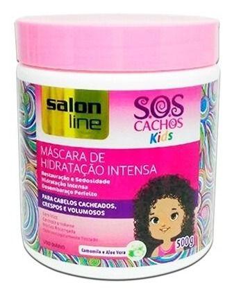 Máscara Salon Kids De Hidratação S.O.S Cachos Kids 500ml