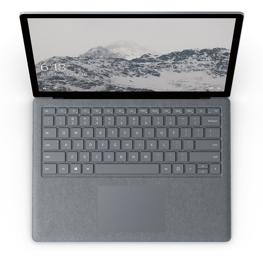 Microsoft Surface Laptop 1769-Intel Core i5, 8 GB de RAM, SSD de 128 GB, tela sensível ao toque de 13,5 polegadas, Win10 S + Mouse Microsoft Surface Arc Bluetooth Genuíno