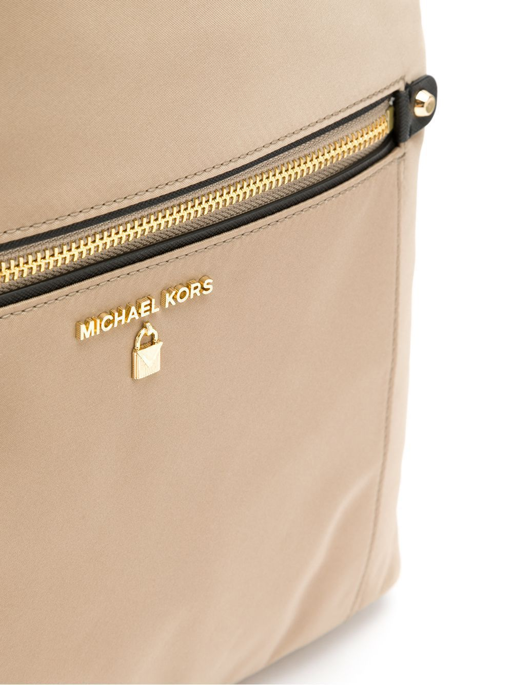 Mochila Michael Kors Nylon Truffle Nude
