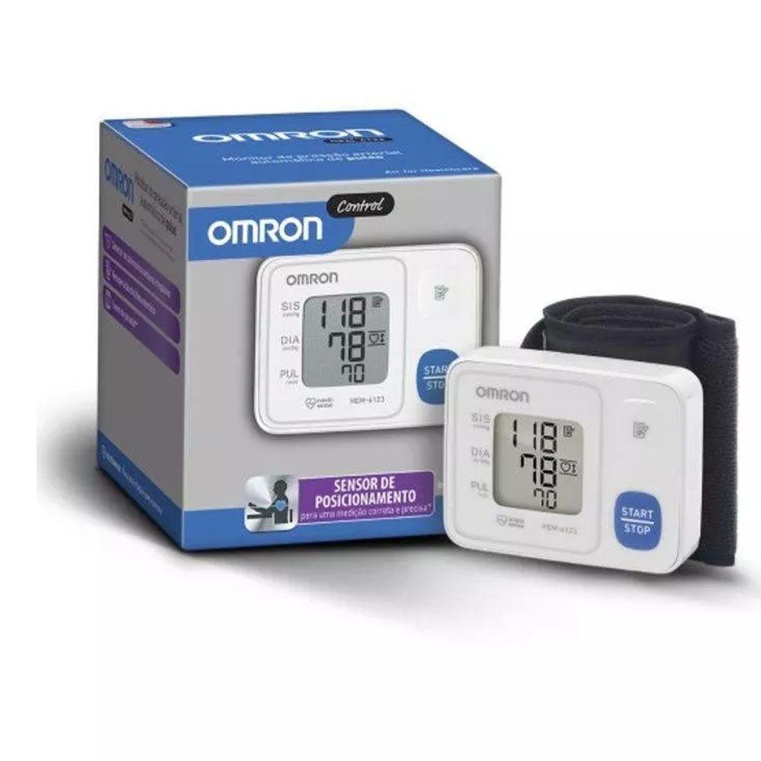 Monitor De Pressão Arterial Omron Automático Hem-6124