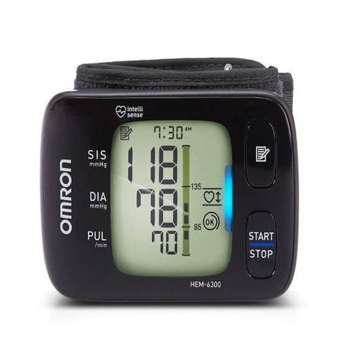 Monitor de Pressão de Pulso HEM-6300 Omron