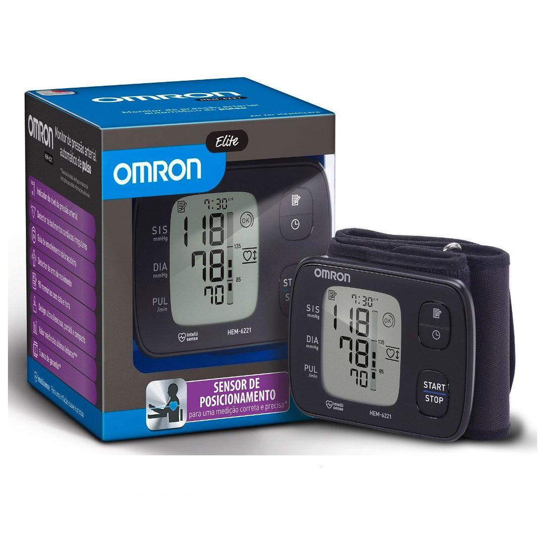 Monitor de Pressão Omron HEM-6221