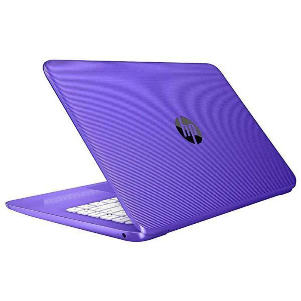 "Notebook HP Stream 14"" 4GB Ram, 32GB SSD Windows 10 Roxo"