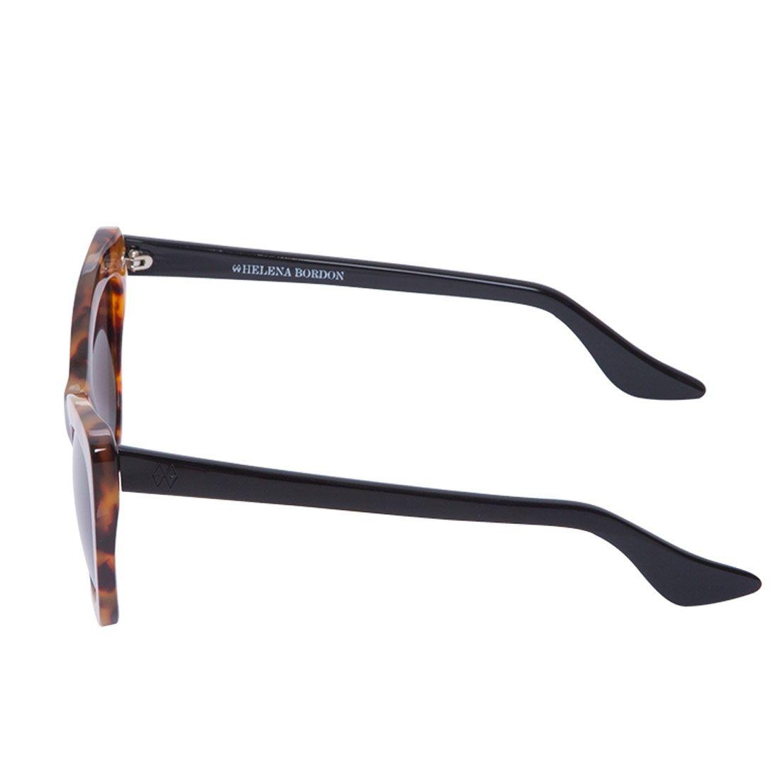 Óculos de Sol Helena Bordon Modelo Brooklyn Marrom