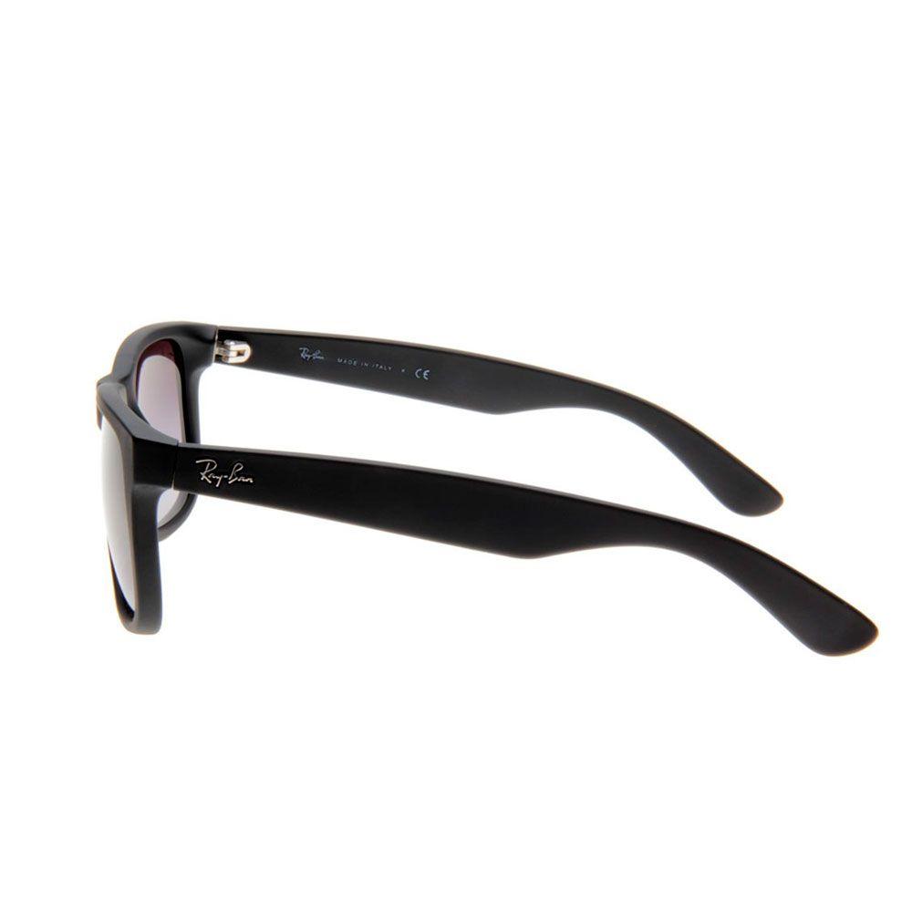 89afc9bfb9365 ... Óculos Ray Ban Modelo Justin Lente Polarizado Preto Fosco - JP Import
