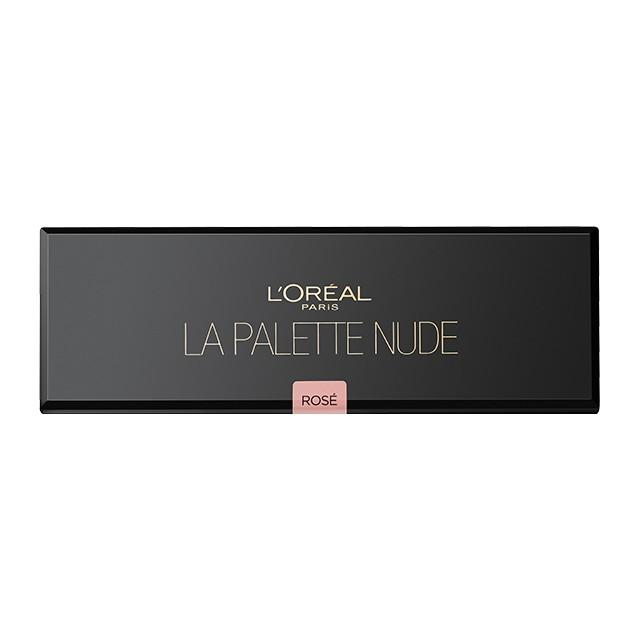 Paleta de Sombra L'Oréal Paris La Palette Nude 01 Rosé