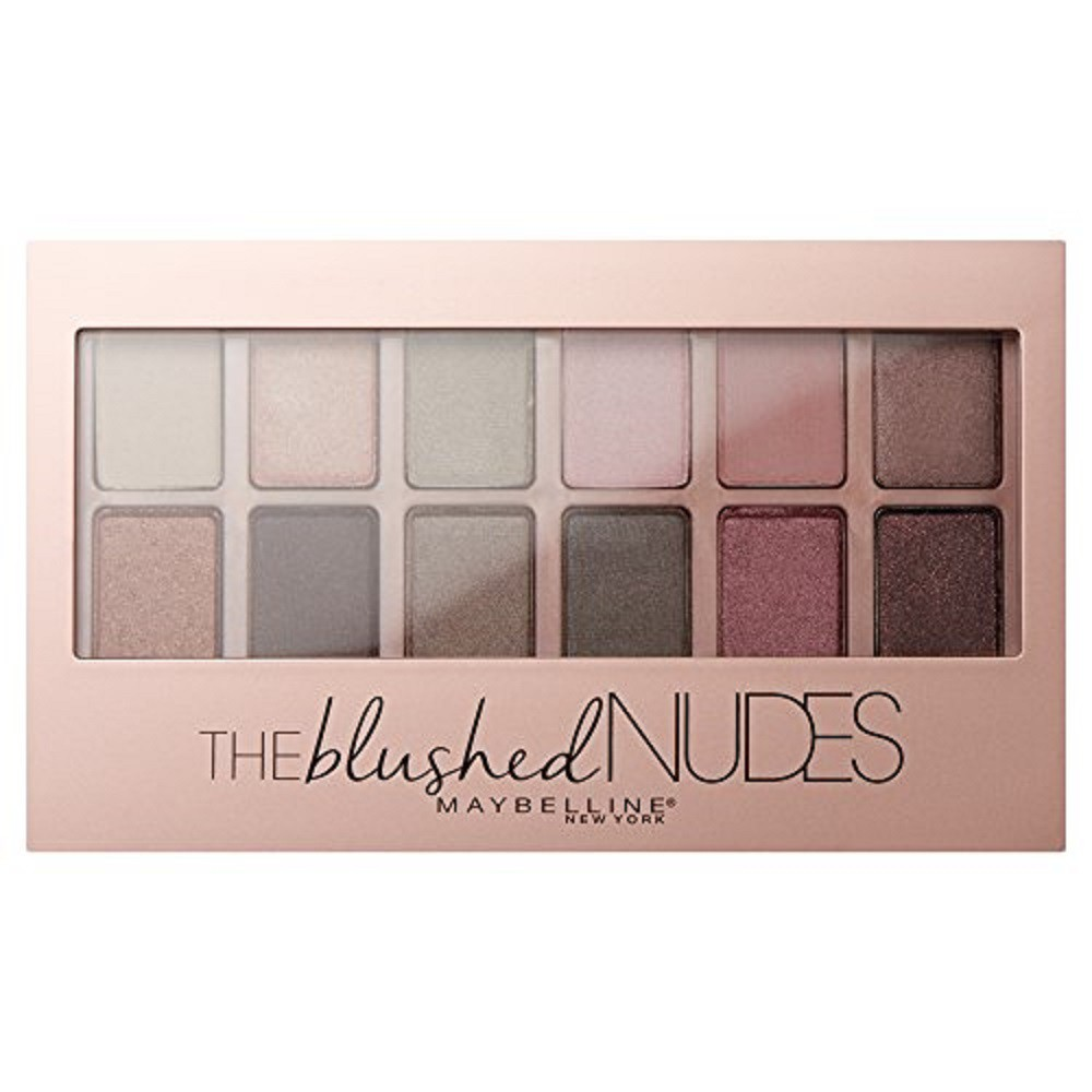 Paleta de Sombra Maybelline The Blushed Nudes