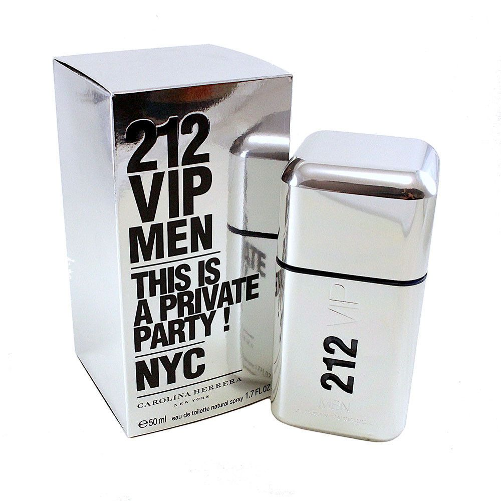 Perfume 212 Vip Men Carolina Herrera 50ml