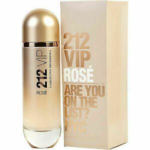 Perfume 212 Vip Rosé Carolina Herrera 125ml